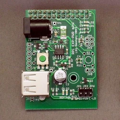 RPi-PWR mini-DCJ :φ2.1mm DC Jack(Center +)