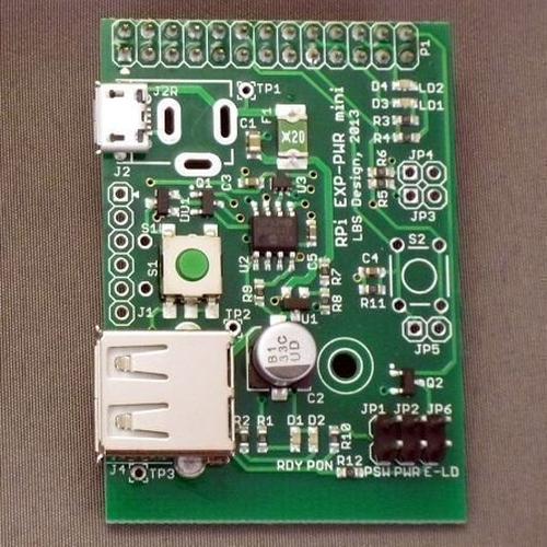 RPi-PWR mini-USB :micro USB (Type-B)