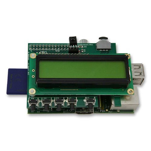 PIFACE CONTROL & DISPLAY I/O BOARD WITH LCD DISPLAY, FOR RPI