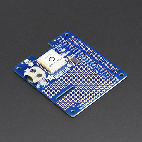 Adafruit Ultimate GPS HAT (Raspberry Pi A+/B+/Pi 2用)
