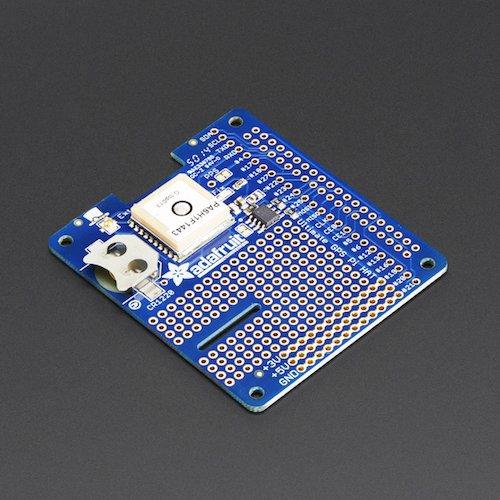 Adafruit Ultimate GPS HAT (Raspberry Pi A+/B+/Pi 2用)