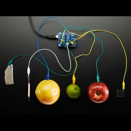 Adafruit 静電容量センサシールドキット