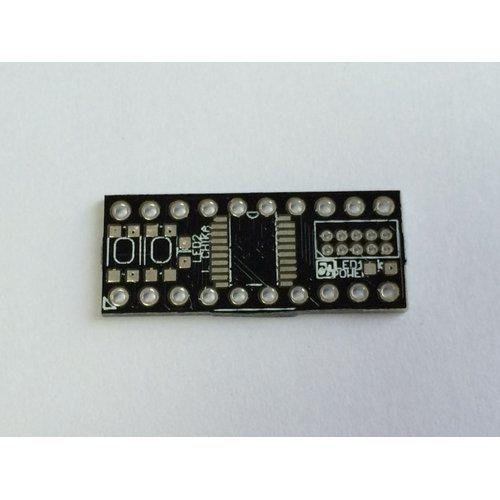 LPC824 300mil board 基板