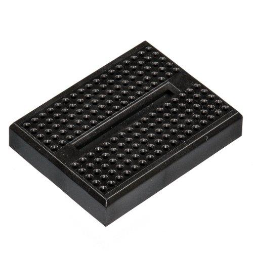 小さいブレッドボード(黒)
