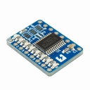PCA9624PW I2C 8ch LED driver board with 8 LEDs onboard