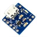 ブレッドボード用5V/3.3V電源ボード Micro-B版