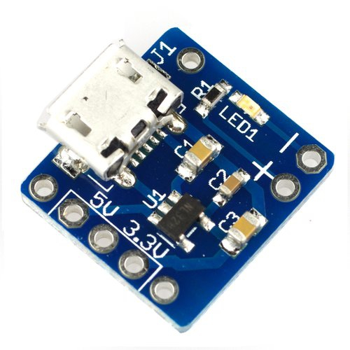 Breadboard Power Supply Kit 5V/3.3V