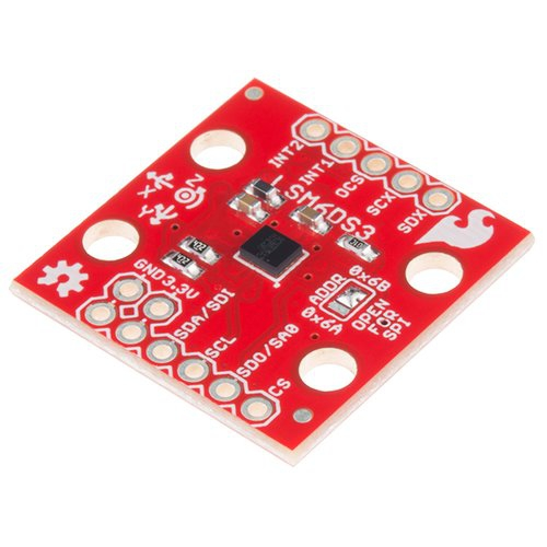LSM6DS3搭載 IMU Breakout(6DOF)