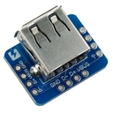 USB Type A Female Breakout Horizontal