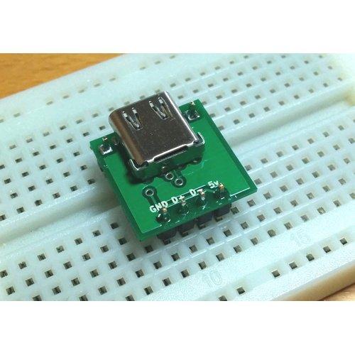 USB type C変換基板