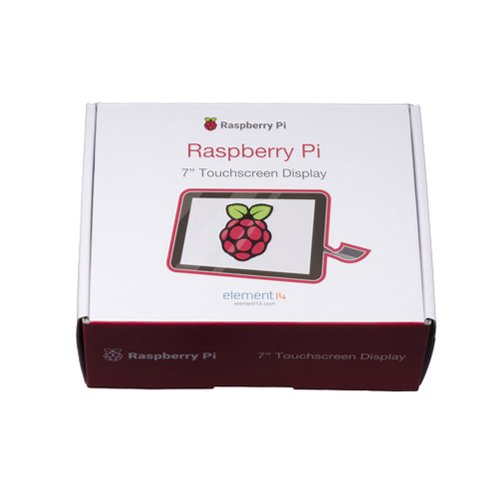 Raspberry Pi用 7インチ タッチスクリーン付き液晶ディスプレイ(Element14製)