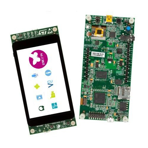 Discovery kit with STM32F469NI MCU
