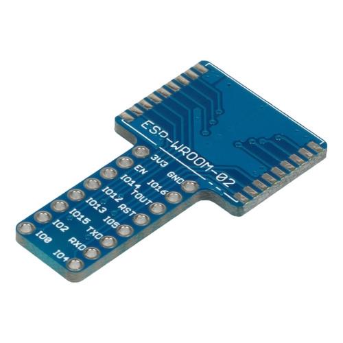ESP-WROOM-02ピッチ変換用基板《T型》 (基板のみ)
