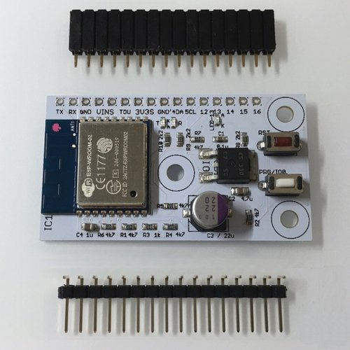 「Board1 ver.1.1」ESP-WROOM-02搭載モジュール