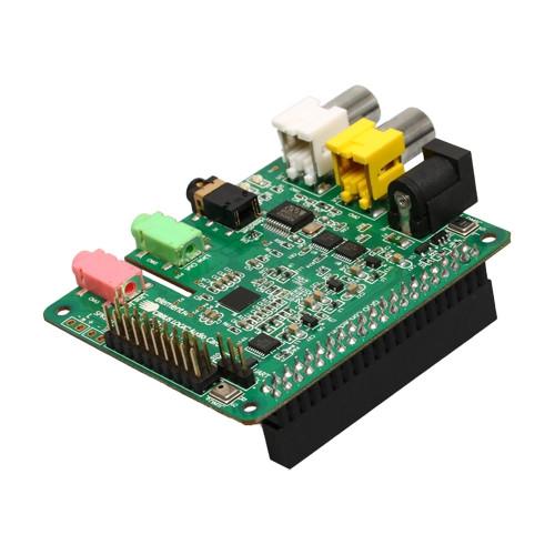 Raspberry Pi用 Cirrus Logic オーディオカード--販売終了