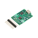 絶縁USBシリアル変換基板(microUSB)
