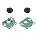 シャフト付きミニプラスチックギアドモーター用磁気式エンコーダ(2個入り)
