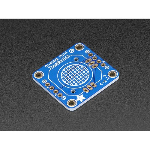 小型アナログジョイスティック用ピッチ変換基板