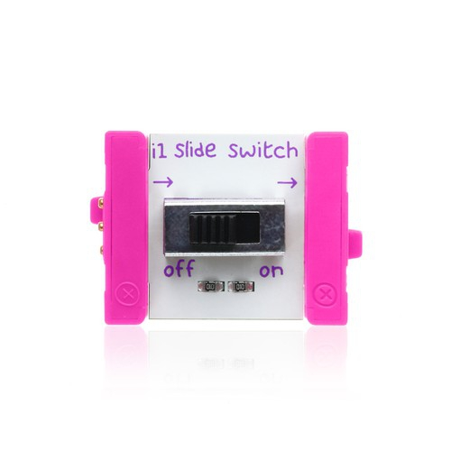 littleBits Slide Switch ビットモジュール