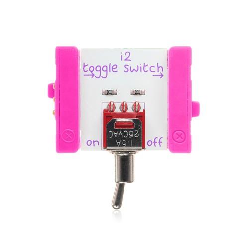littleBits Toggle Switch ビットモジュール