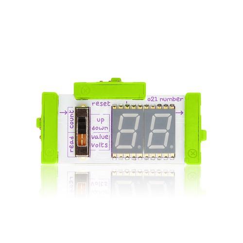 littleBits Number ビットモジュール