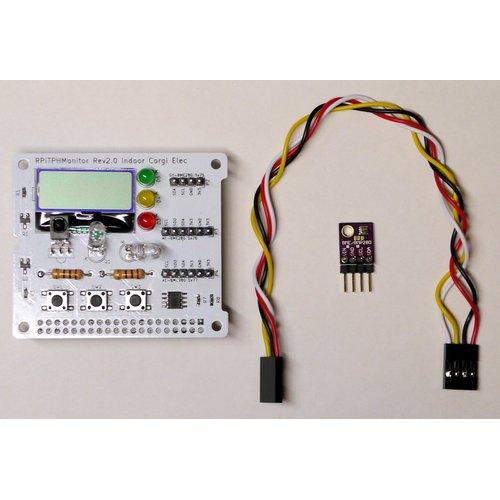 Raspberry Pi用 赤外線 + 温度湿度センサ ホームIoT 拡張ボード「RPi TPH Monitor Rev2.2」
