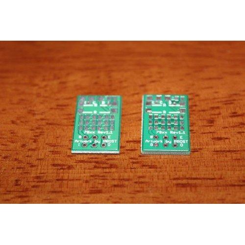 3端子レギュレータ to LED電源変換基板140um(正負セット)
