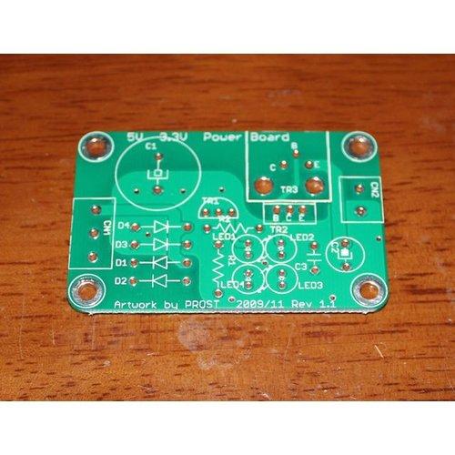 5V 3.3V共用単電源基板140um