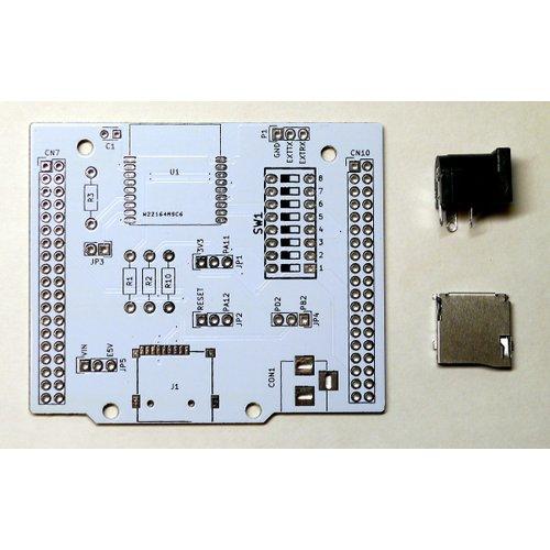 Nucleo64用 Wi-Fi + microSD + 電源拡張ボード「NC64-BaseShield」(ミニマムセット)