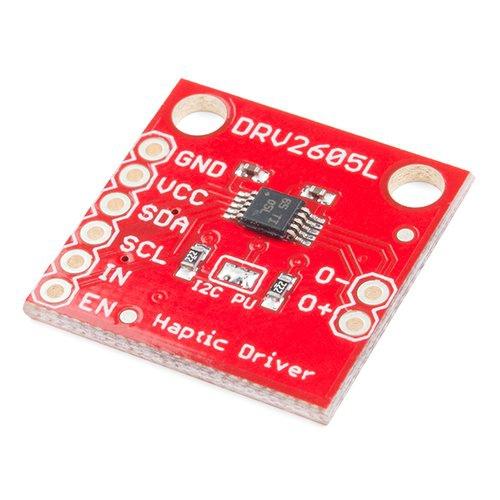 DRV2605L搭載 触覚フィードバックモータードライバ--販売終了