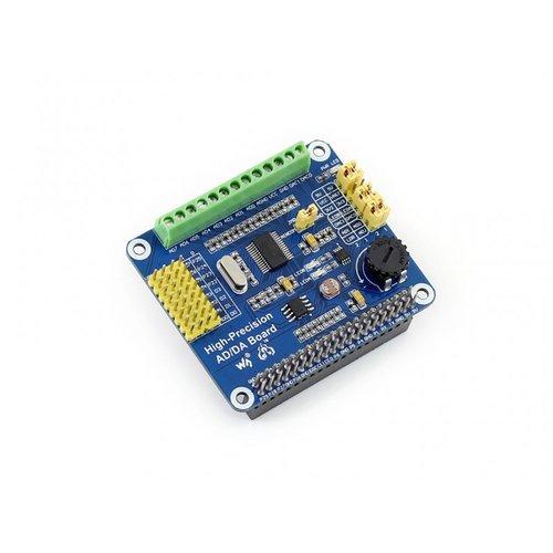 Raspberry Pi用高精度AD/DAボード