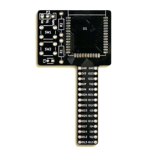 ESP-WROOM-32 ブレッドボード開発基板 「E32-BreadPlus」(基板のみ)