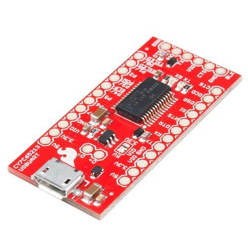 CY7C65213搭載 USBシリアル変換アダプタ--在庫限り
