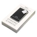 【黒色】IoT機器用モバイルバッテリー cheero Canvas 3200mAh