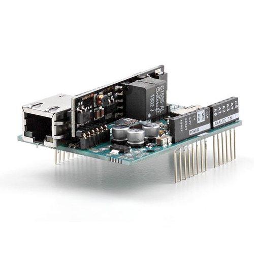 Arduino イーサネットシールド2(PoEモジュール付)--販売終了