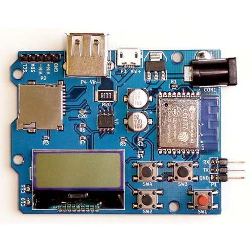 INA219搭載 電圧、電流、電力モニター基板 「ESP-PowerMonitor」(USB)