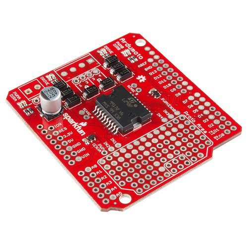 Arduino用モータードライバシールド「Ardumoto」