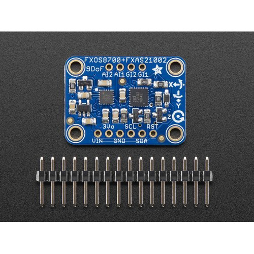 FXOS8700 + FXAS21002搭載 IMU 9DoF