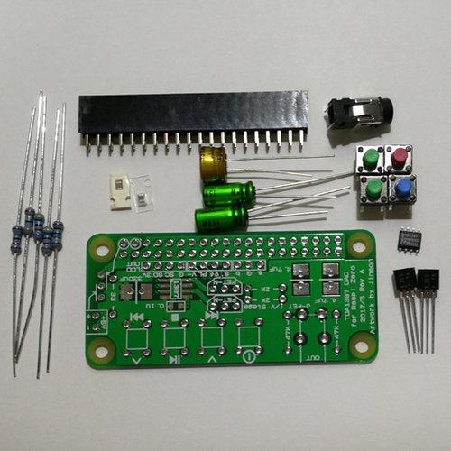 TDA1387 DAC for Raspberry Pi Zero