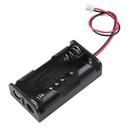 micro:bit用 単三電池2本をJST PHコネクタで出力できる電池ボックス