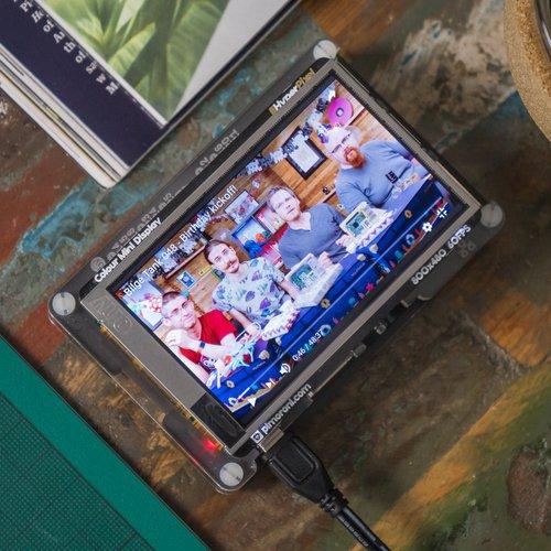 HyperPixel - Raspberry Pi用 高精細3.5インチタッチスクリーンディスプレイ--販売終了