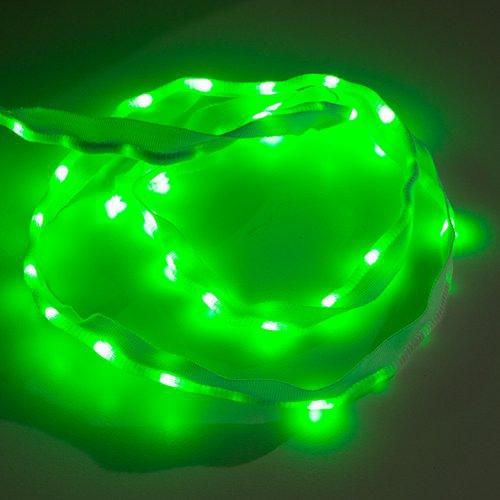 布製LEDリボン - LED50個搭載 1m(緑色)