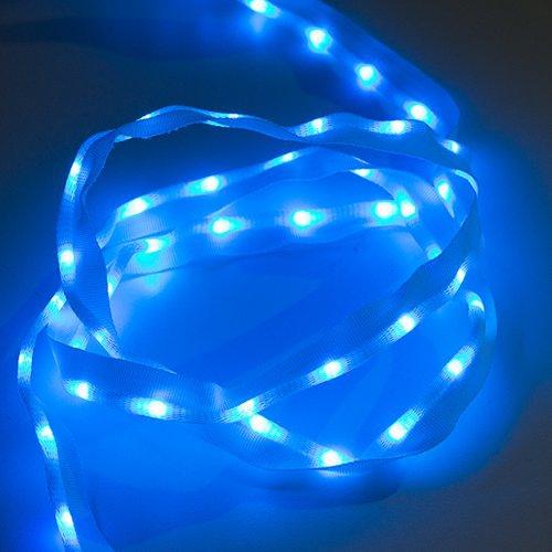 布製LEDリボン - LED50個搭載 1m(青色)