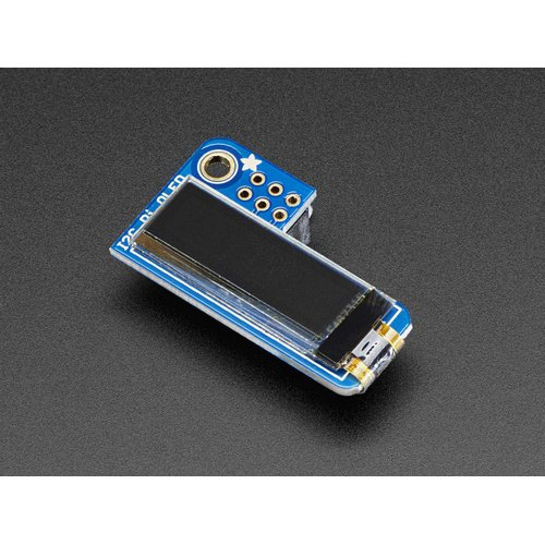 Adafruit PiOLED - Raspberry Pi用 128x32 モノクロOLEDモジュール
