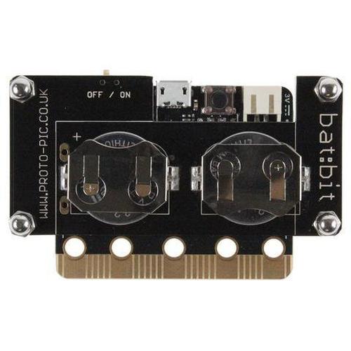 micro:bit用 bat:bit slimバッテリーケース--販売終了