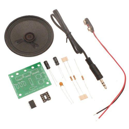 モノラルアンプ基板キット V2.0(スピーカー/ケース付き)--販売終了
