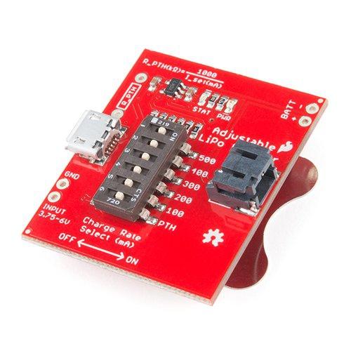 充電電流が調節可能なリチウムイオン電池充電器