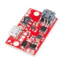 5V/1A ブースト機能付 リチウムイオン電池充電器