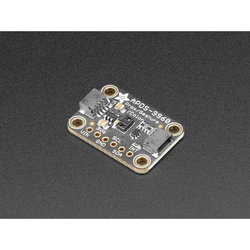 APDS9960搭載 ジェスチャーセンサ(RGB、環境光、近接距離センサ付き)