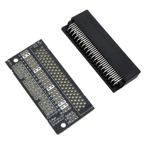 micro:bit用エッジコネクタピッチ変換基板(未実装版)
